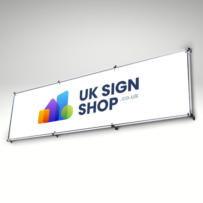 Wall Mounted Banner Frame