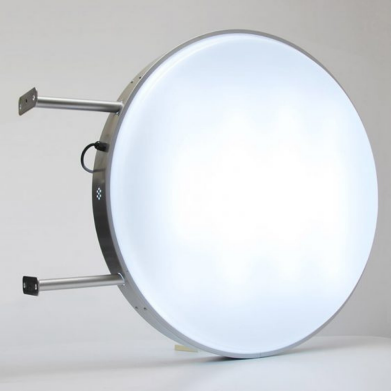 60cm Circle Round Projecting LED Lightbox