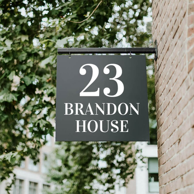 Brandon Hanging Sign