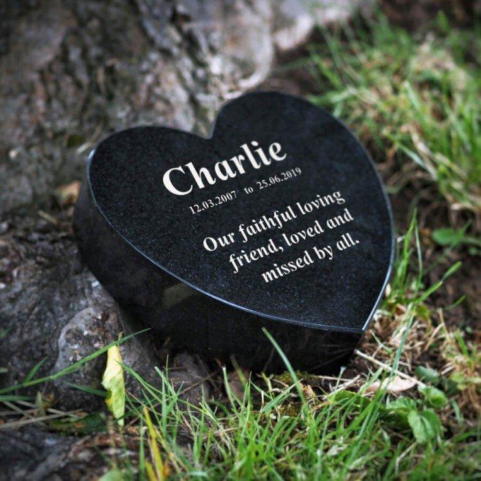Heart Memorial Plaque