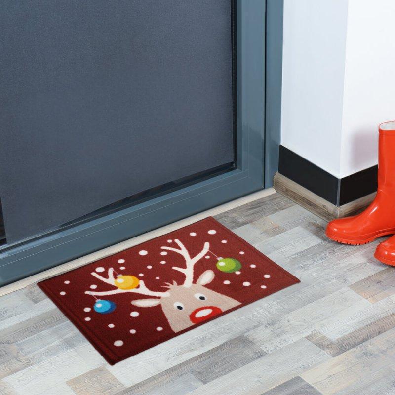 Reindeer Christmas Doormat