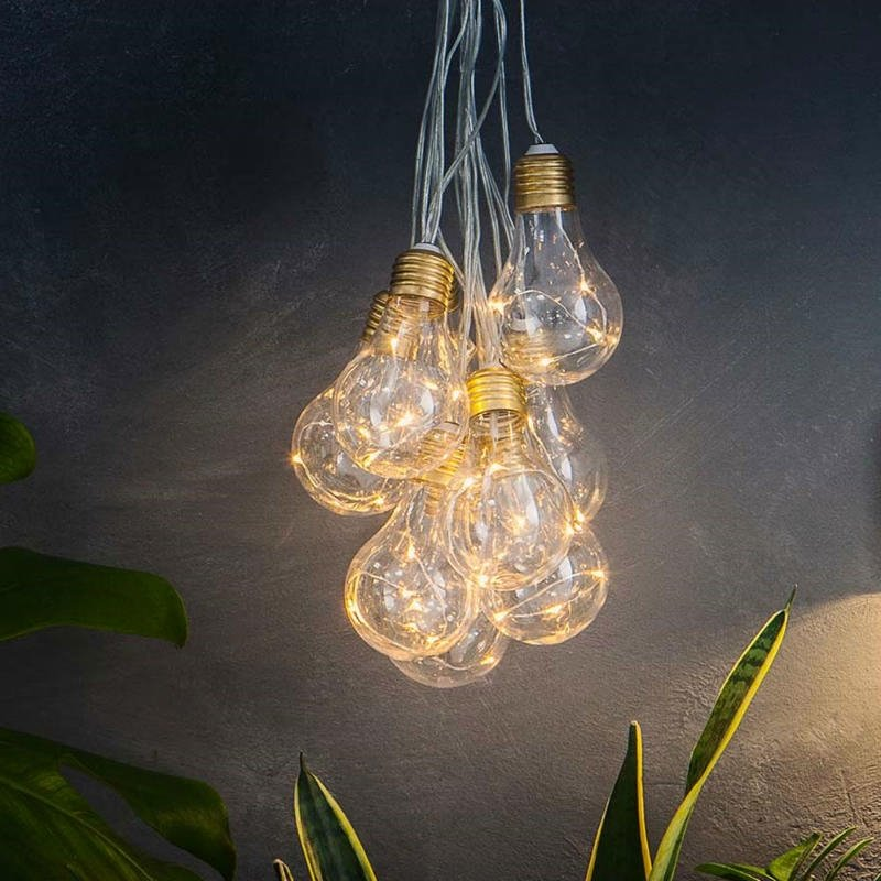 Lumify Solar Vintage Bulb Lights