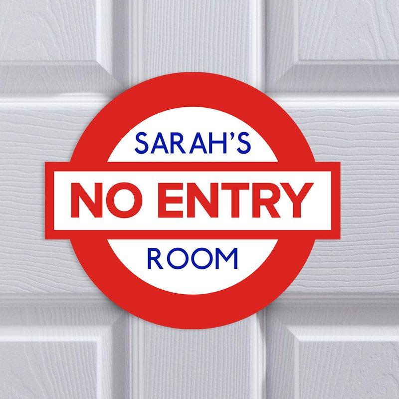 Bedroom No Entry