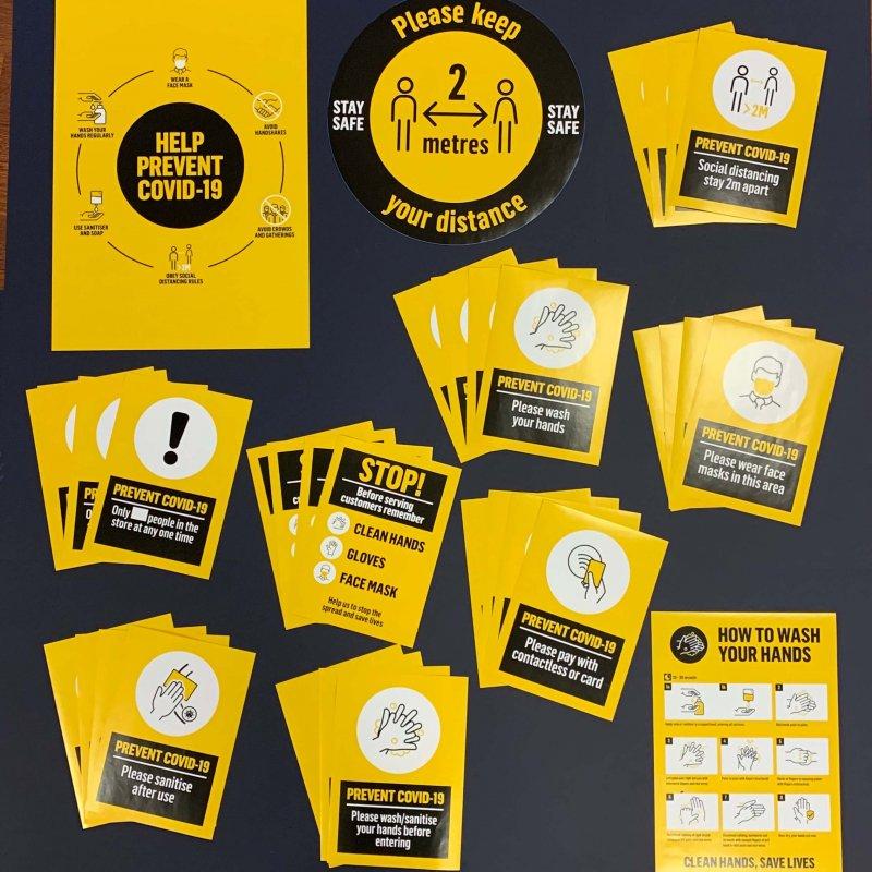 Social Distancing Sticker Pack