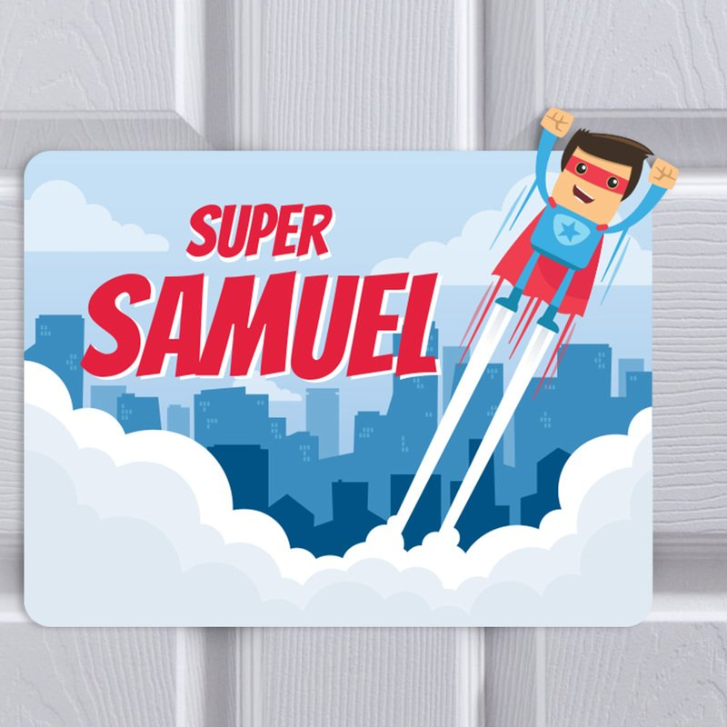 Bedroom Superhero