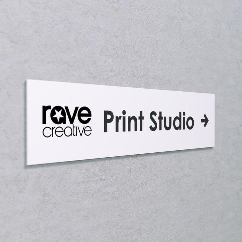 Acrylic Wayfinding Sign