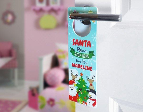 Christmas Gang Door Hanger