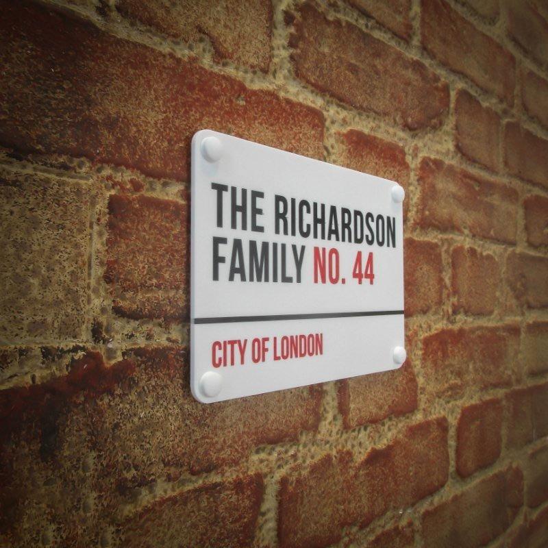 London Street Sign