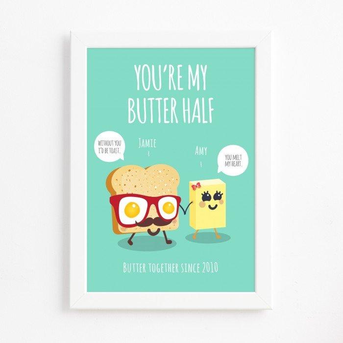 Butter Half Print