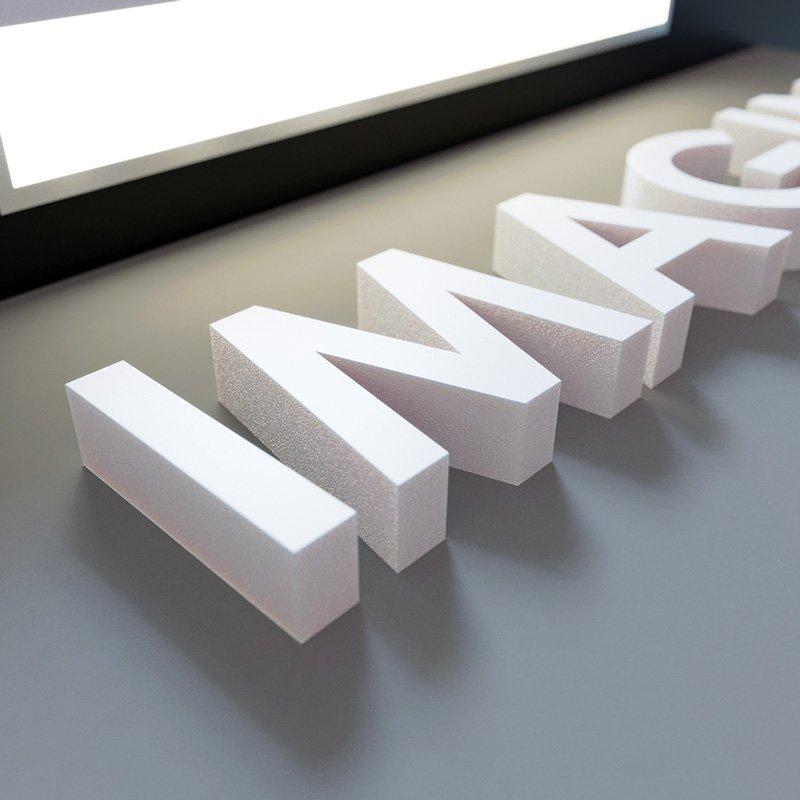 Large Foamboard 3D Letters