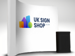 Curved Pop Up Banner Display