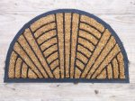 Coir and Rubber Semi Circular Door Mat