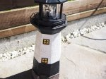 Solar Powered Traditional Garden Lighthouse
