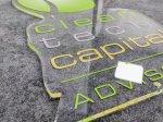 Clear Acrylic Laser Profile Cut & UV Print