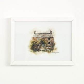 Personalised House Illustration
