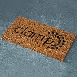 Coir Logo Doormat