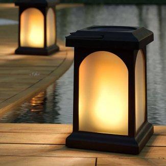 True Flame Solar Lantern