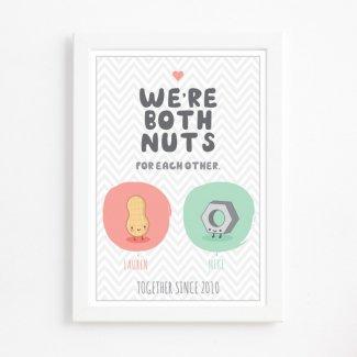 Both Nuts Print