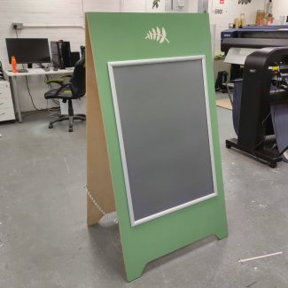 Wooden A-Board Sign & Poster Holder