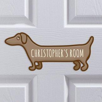 Bedroom Sausage Dog