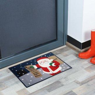 Santa Christmas Doormat