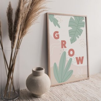Plant Grow Print
