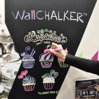 Chalkboard Wall Wrap Mactac WallCHALKER