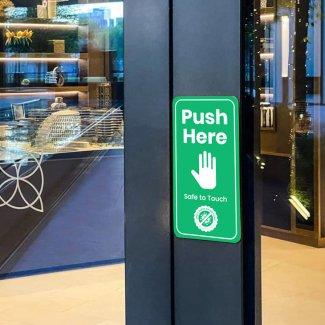 Anti-viral Door Push
