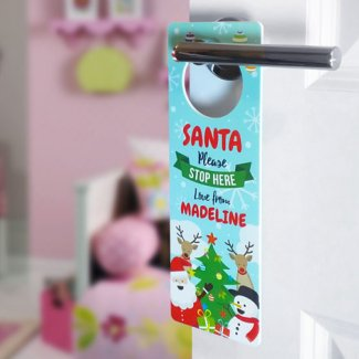 Christmas Gang Door Hanger