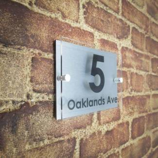 Acrylic House Signs | 28+ Numbers & Plaques From Just £14 99
