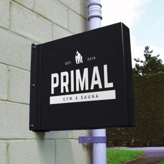 Projecting Wall Sign