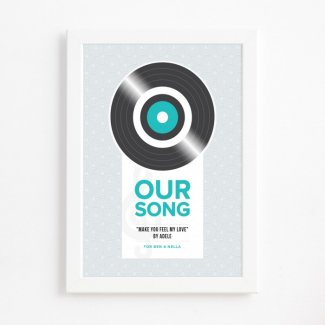 Our Song Print