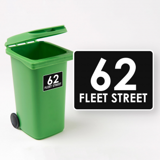 Newbury Wheelie Bin Sticker